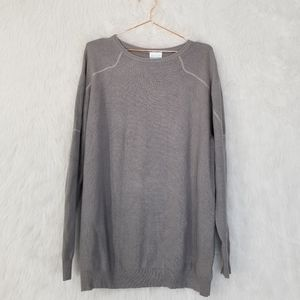 Men's Colombia Gray Wool Blend Sweater